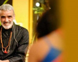 """If you open your heart and become like a child, you will always be blissful, always content."" Dharma Mittra"